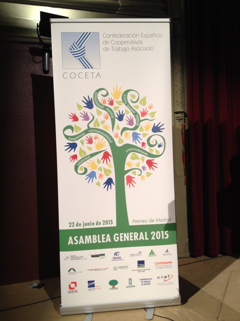 Asamblea General COCETA 2015 Madrid