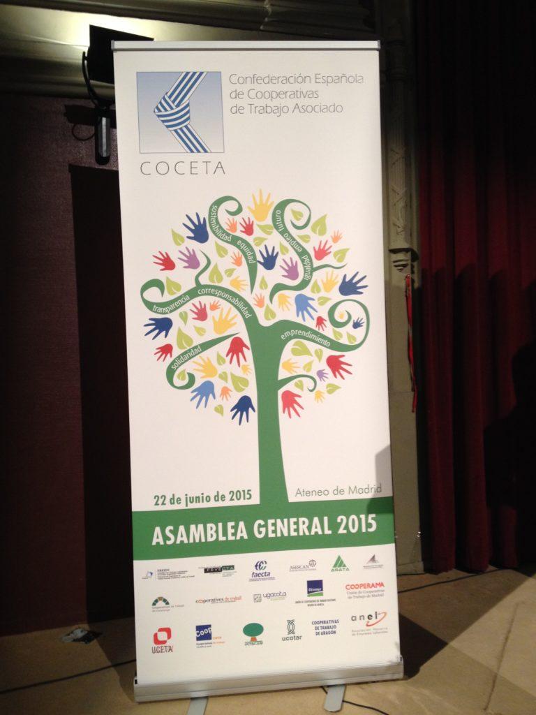 Asamblea General COCETA 2015 Madrid